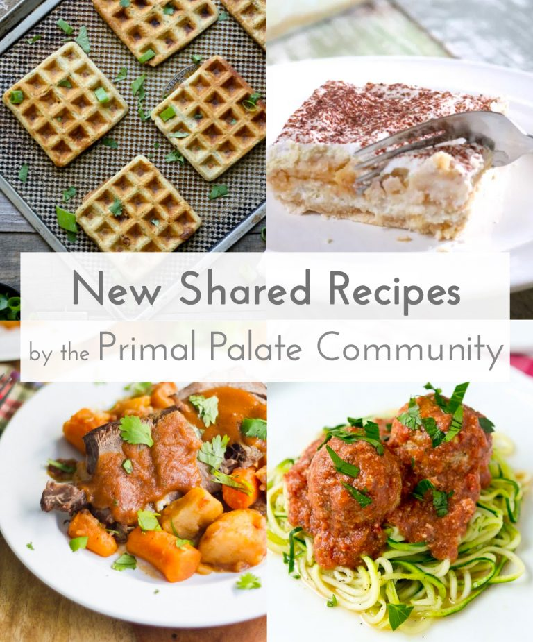 New Shared Recipes – February Paleo Recipe Roundup