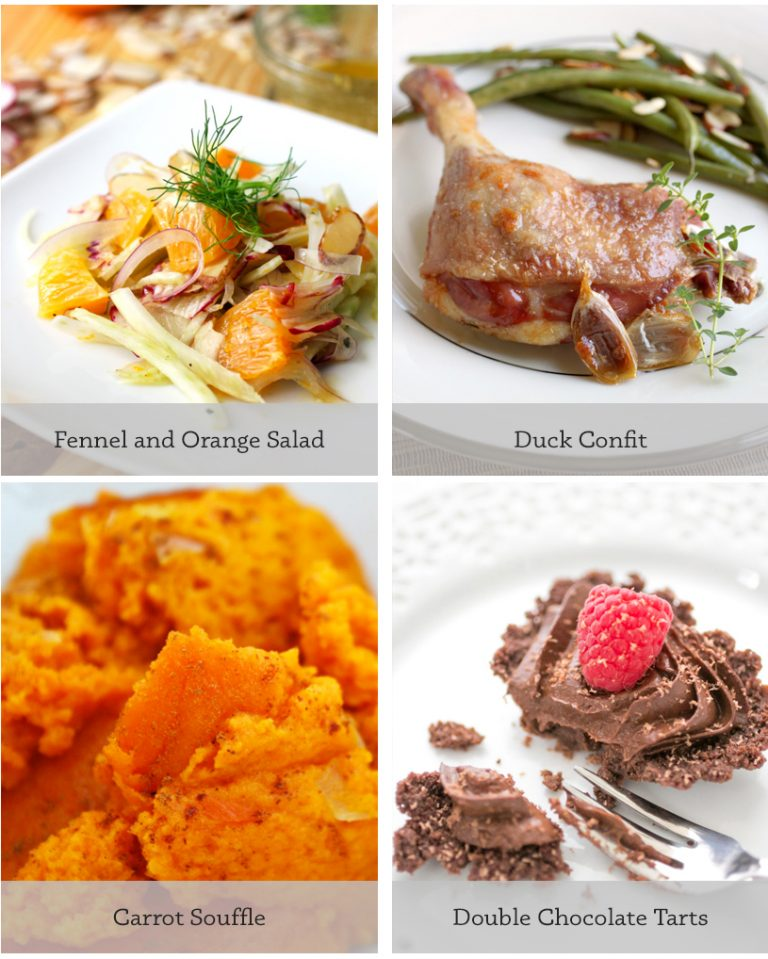 Three Special Paleo Valentine's Day Menus