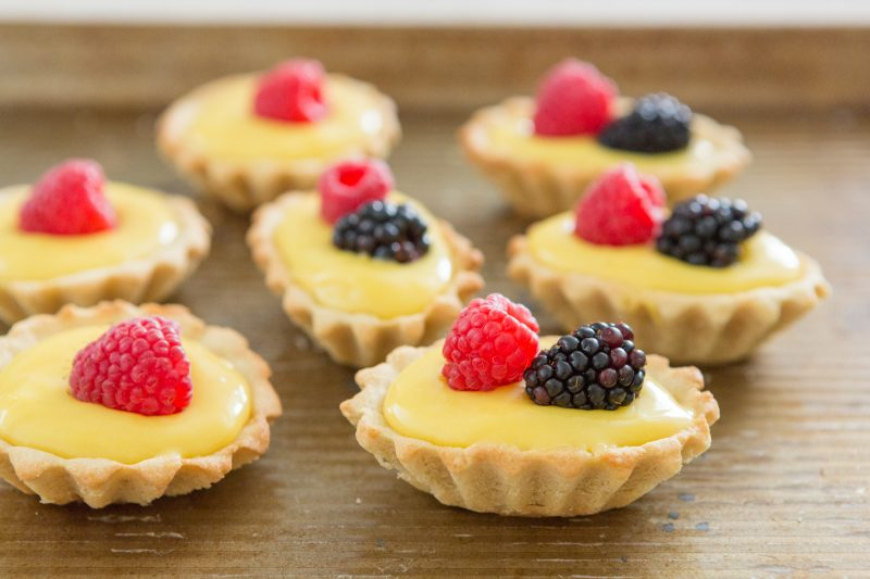 Fresh Berries Tartelettes Recipe — Dishmaps