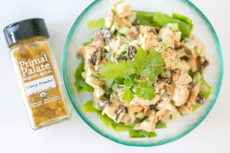 Curried Chicken Salad Primal Palate Paleo Recipes