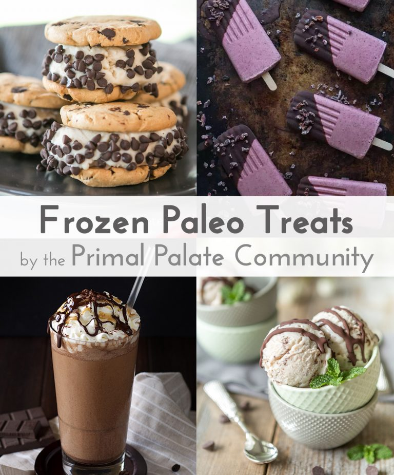 25 Amazing Paleo Frozen Treats - Ice Cream, Popsicles, Shakes, and More