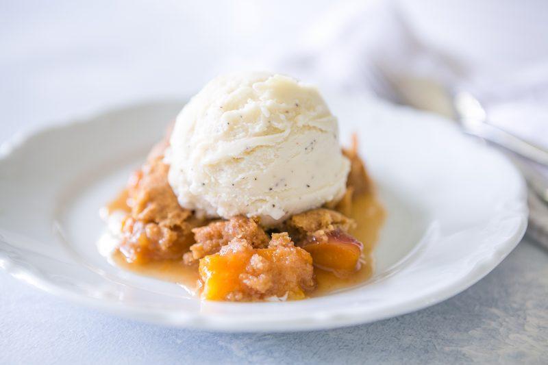 Gluten Free Peach Cobbler Cake Mix