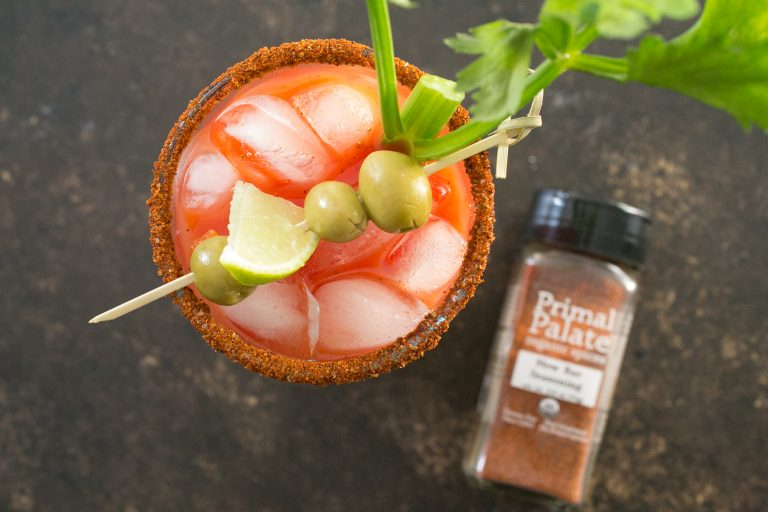Bloody Mary Recipe using our New Bae Seasoning