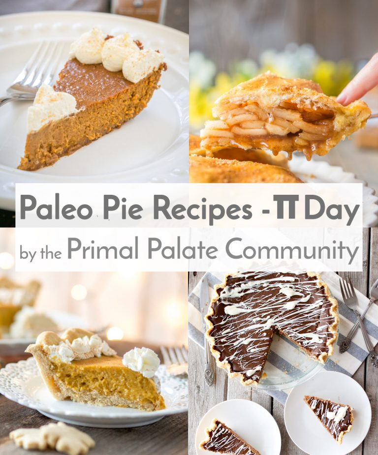 Happy Pi Day 2018 - Our best Paleo Pie Recipes!