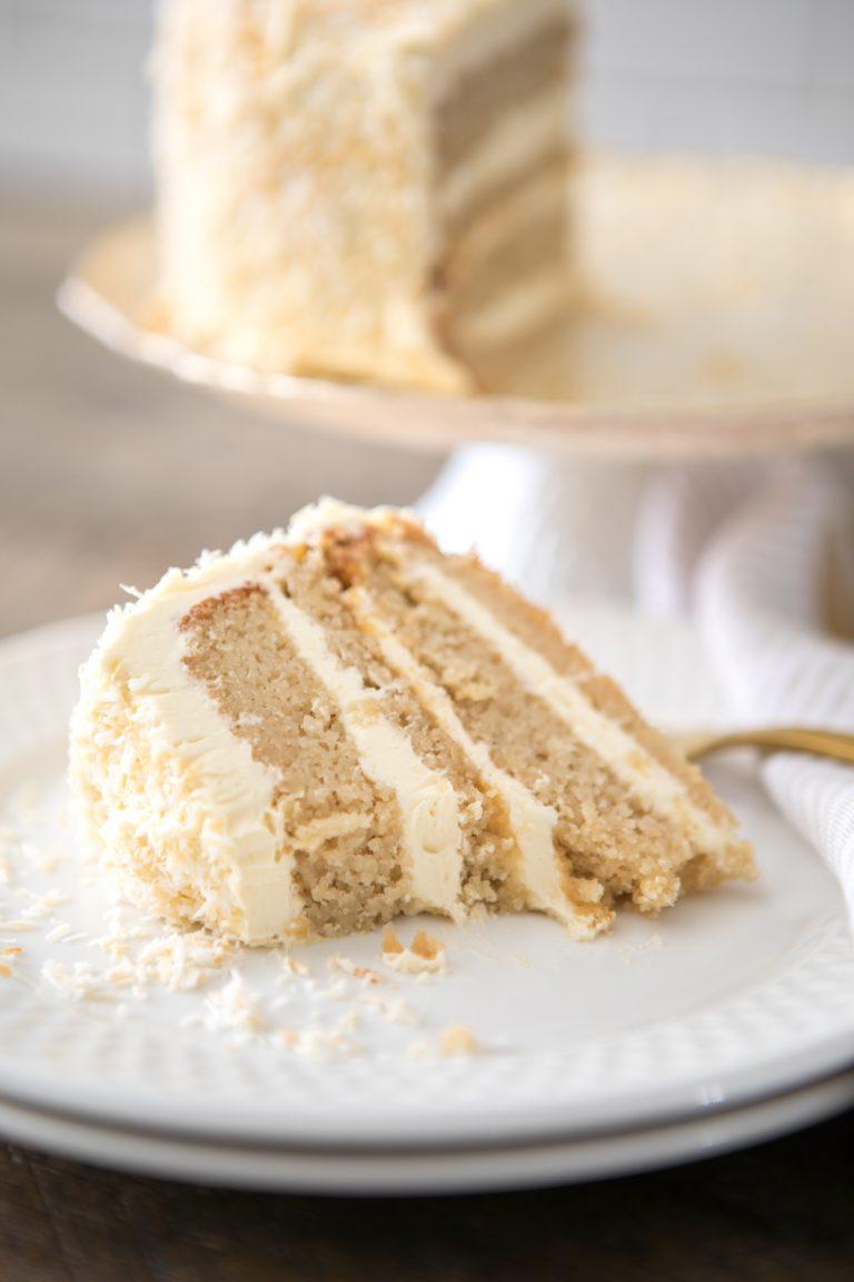 Grain-free Coconut Cake