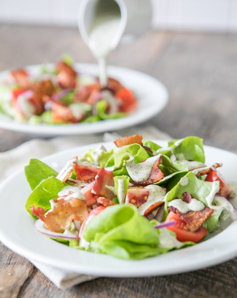 BLT Salad with Garden Ranch