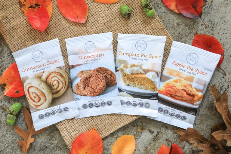 NEW Sweet Singles - fall flavors to go!
