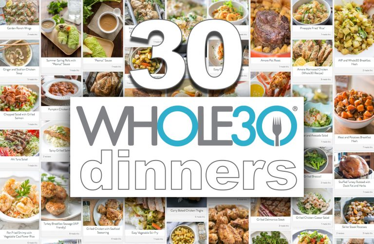 30 Awesome Whole30 Dinner Recipes