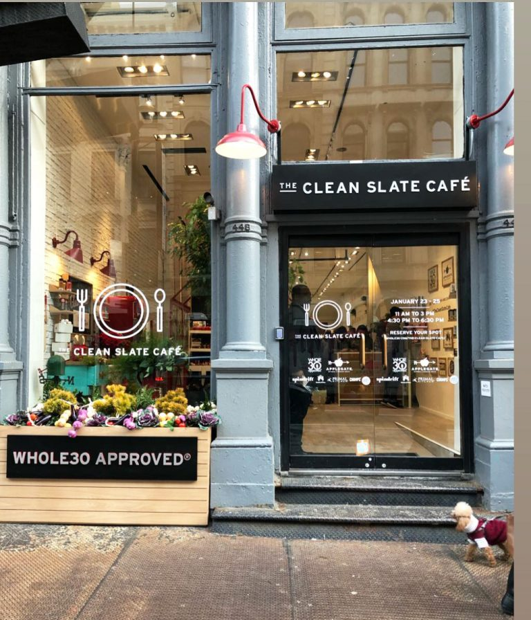 The Clean Slate Cafe - Applegate's Whole30 Popup Restaurant in NYC