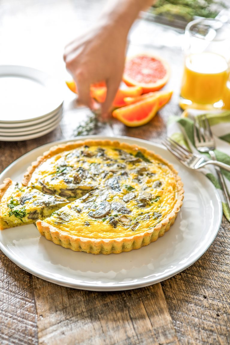 Try this Paleo-friendly Quiche for your next brunch!