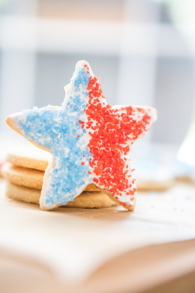 Grain-Free 4th of July Sugar Cookies
