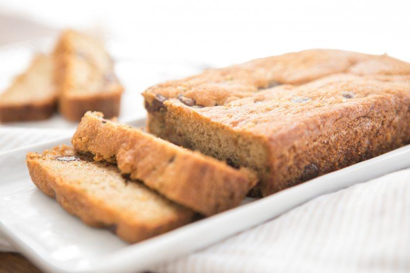 Grain Free Chocolate Chip Zucchini Bread