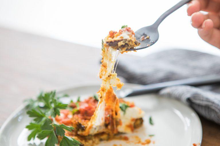 Grain-Free Eggplant Parmesan