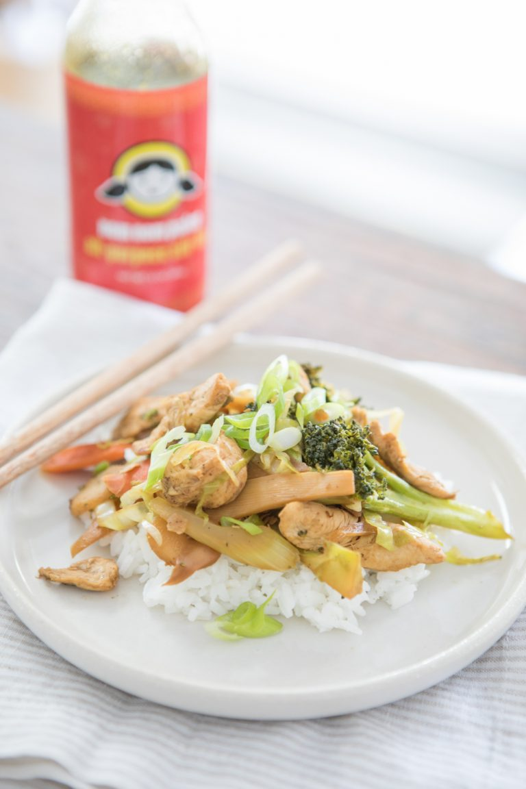 Chicken and Vegetable Stir Fry with Nom Nom Paleo All-Purpose Stir Fry Sauce