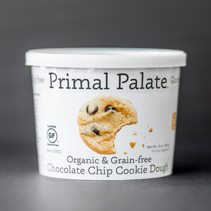 New Product: Primal Palate Organic & Grain-free Chocolate Chip Cookie Dough