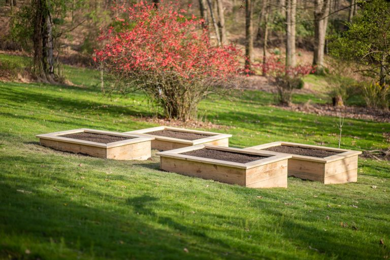 How to Build Raised Garden Beds (on a slope!)