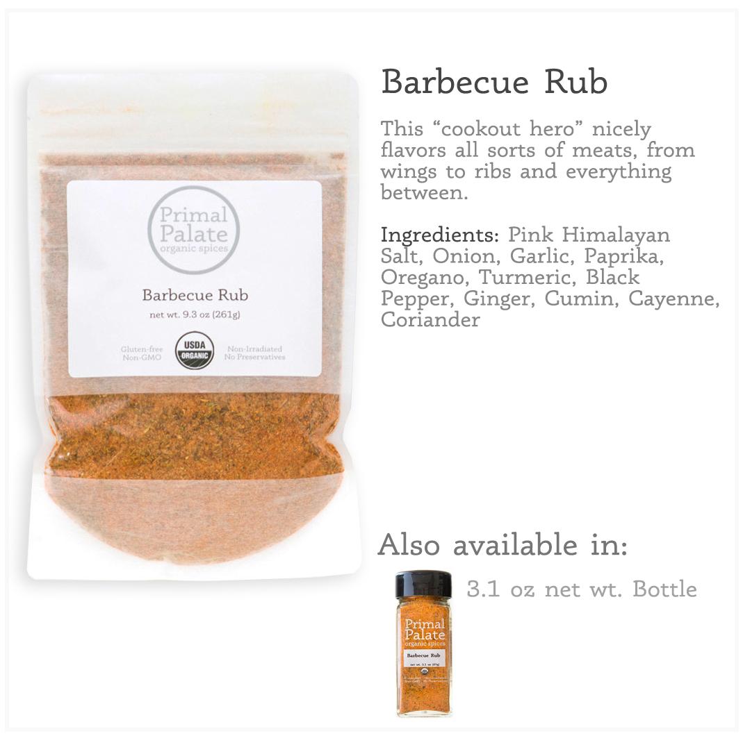 Tile - BBQ Rub Resealable Bag