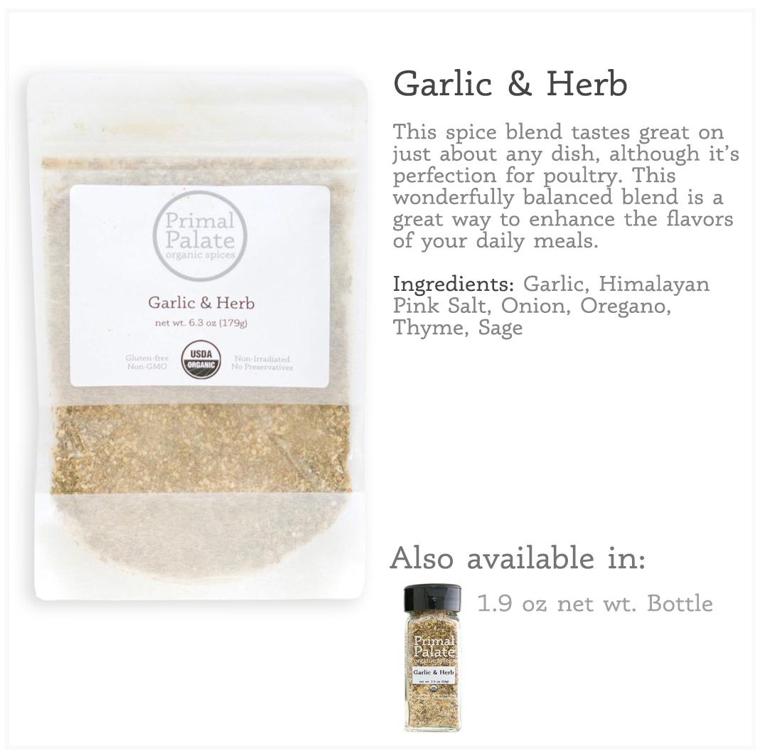 Tile - Garlic Herb Resealable Bag