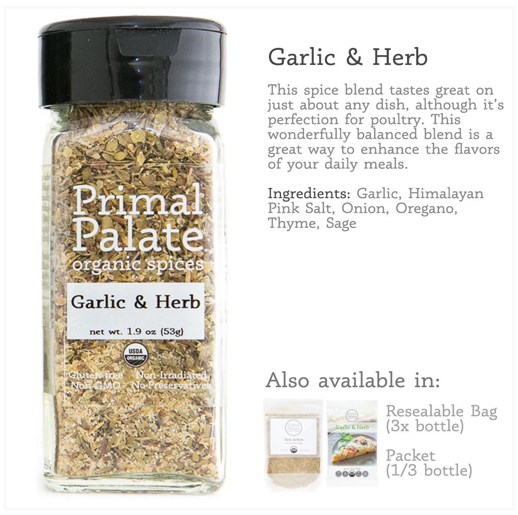 Tile - Garlic Herb