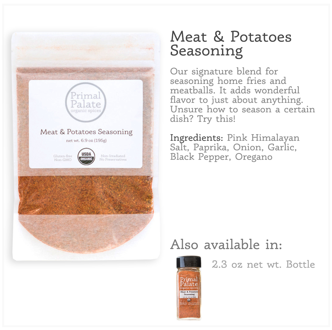 Tile - Meat Potato Resealable Bag