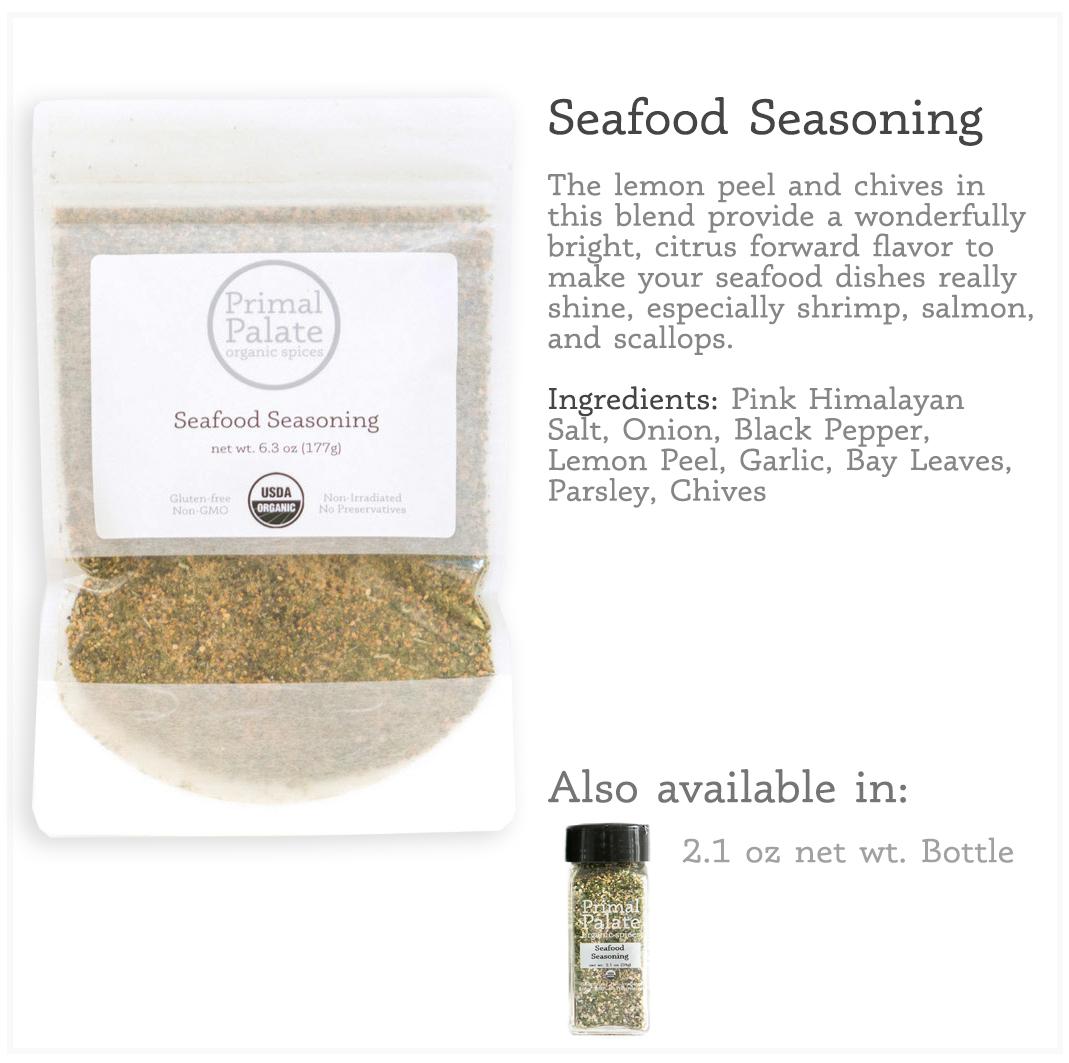 Tile - Seafood Resealable Bag