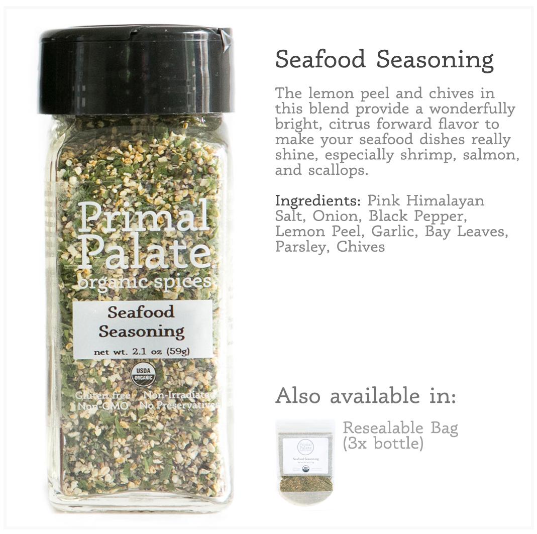 Tile - Seafood Seasoning