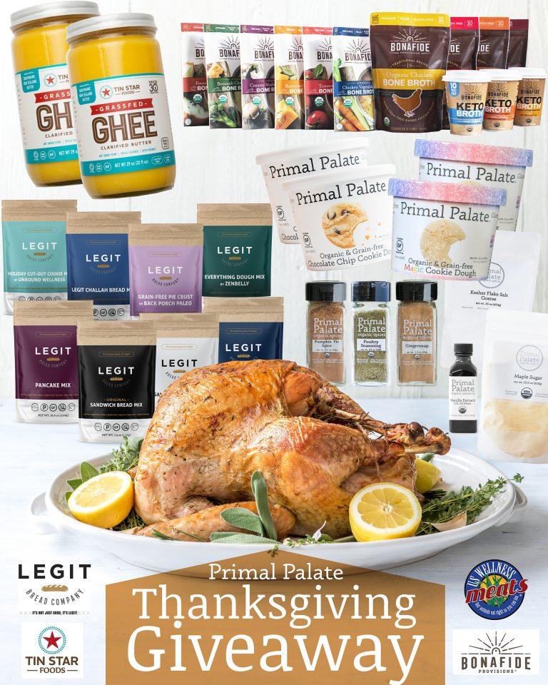 Thanksgiving Giveaway with some of our Favorite Brands!